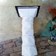 风机伸缩软连接 帆布防尘布袋