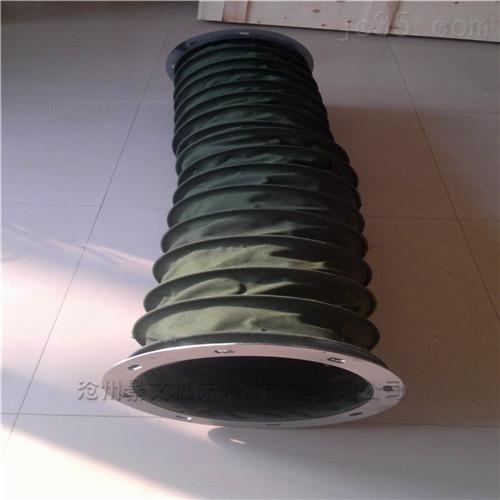 上海耐温帆布除尘伸缩软管厂家批发价