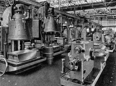 1948年英国阿奇代尔www.188bet.com工厂照片,相隔70年我们再看,还是震撼