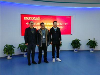 中国机床商务网走进苏州伟创电气设备技术有限公司