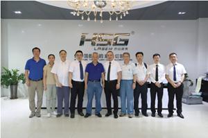 中国机床工具工业协会走访宏山激光