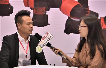宁波智诚机器人有限公司惊艳亮相2018宁波机床展