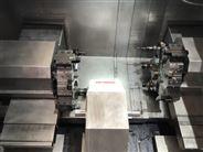 屹捷数控YJCK40SDT对列双主轴盘类零件自动化联线设备
