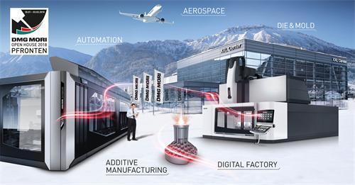 DMG MORI 2018工厂开放日:创新的机床和一体化的自动化系统 - 您的未来生产解决方案